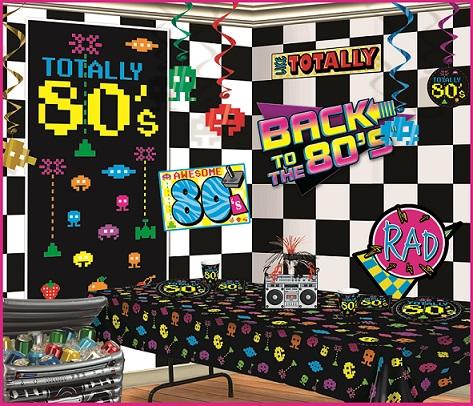 80's Instant Party Scene