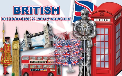British Party Supplies & Decorations