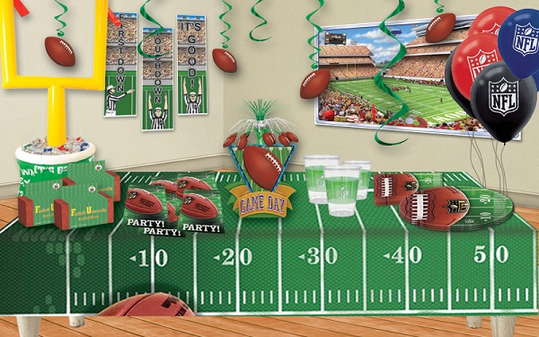 Nfl Football Party Ideas Partycheap