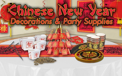 Chinese New Year Decorations & Party Supplies