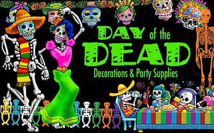 Day of the Dead Decorations & Party Supplies