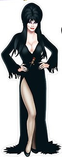 Halloween Royalty for your home - check out our new Elvira Peel 'N Place!