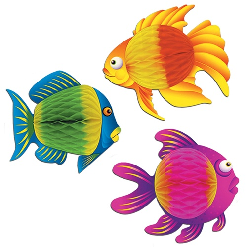 Fish Party Supplies & Decorations