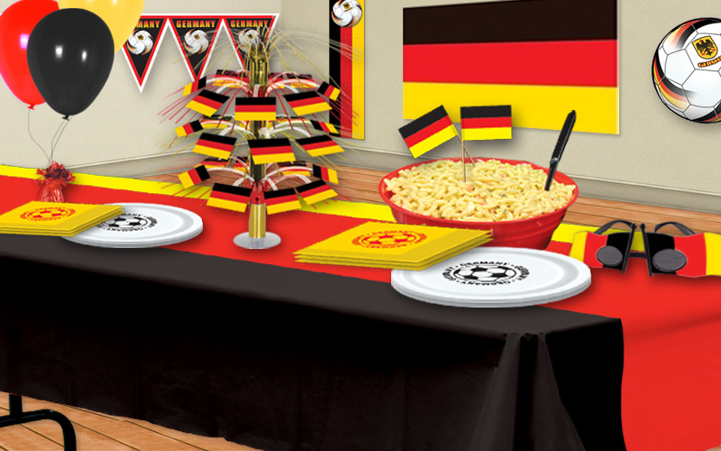 German Soccer Party Decorations Partycheap