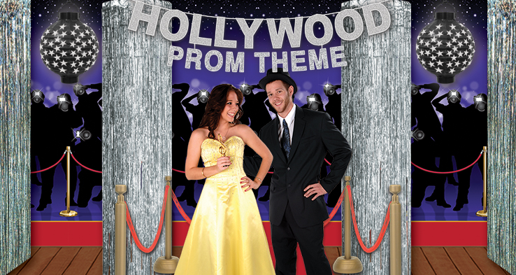 hollywood prom  sc 1 st  Party Cheap & 2016 Cheap Prom Theme Ideas - PartyCheap