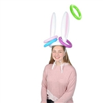 Inflatable Bunny Ears Ring Toss