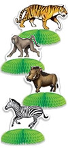 Take your geuests to the jungle with our Jungle Safari Animal Mini Centerpieces