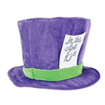 Plush Mad Hatter Hat