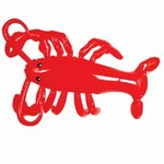 Inflatable Lobster