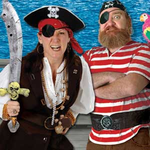 Pirate Party Costume Accessories