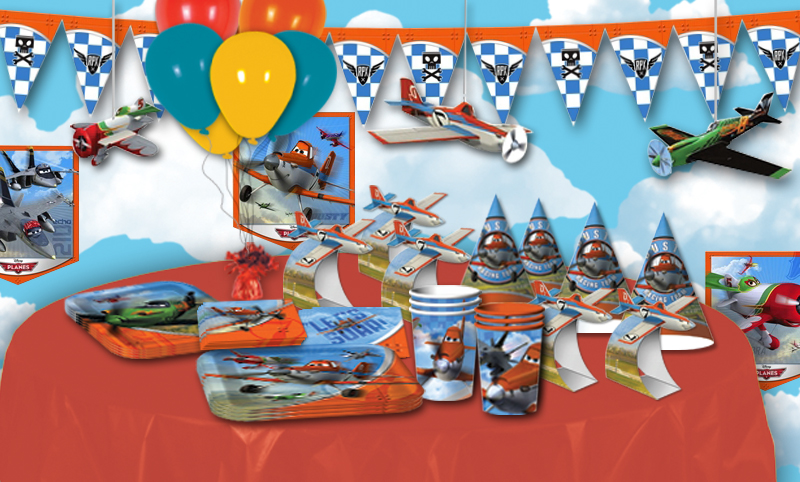 Disney Planes Table Decorations