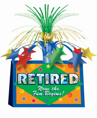 Retirement Centerpieces