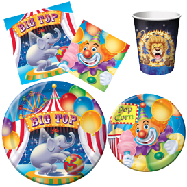 Big Top Tableware