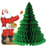 Christmas Santa Center Piece