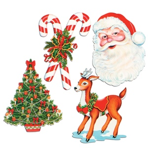 decorate your wall ceiling or door with our christmas cutouts