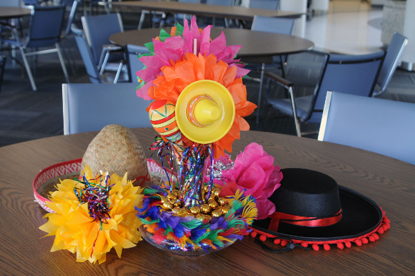 Retirement party tables retirement party decorating ideas - Fun Fiesta Table Centerpiece Partycheap