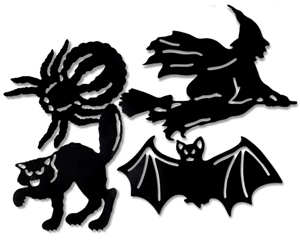 we now offer a line of reproduction vintage cutouts that feature the famous beistle company artwork now you can decorate with vintage looking halloween art