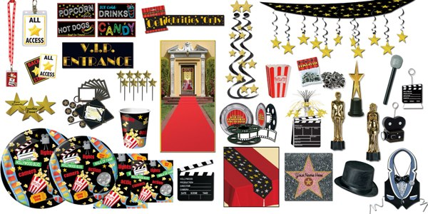 How to decorate for a hollywood theme party partycheap for Hollywood party dekoration