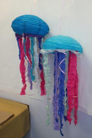 Jellyfish Paper Lantern Partycheap