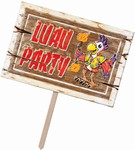 Luau Party Yard Sign