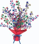 Multi-Color Star Gleam N Burst Centerpiece