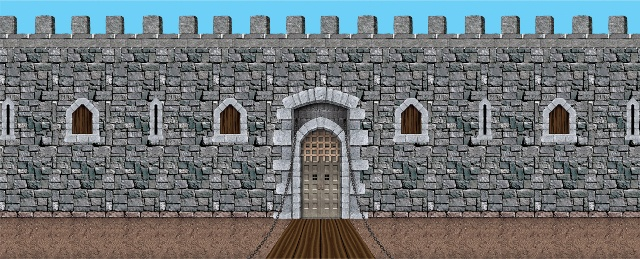 Medieval Themed Castle Scenery
