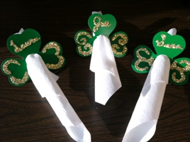 Shamrock Place Napkin Holders