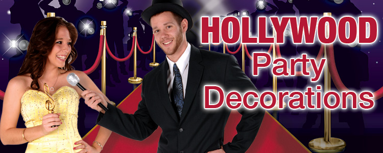 Hollywood & Red Carpet Party Decorations