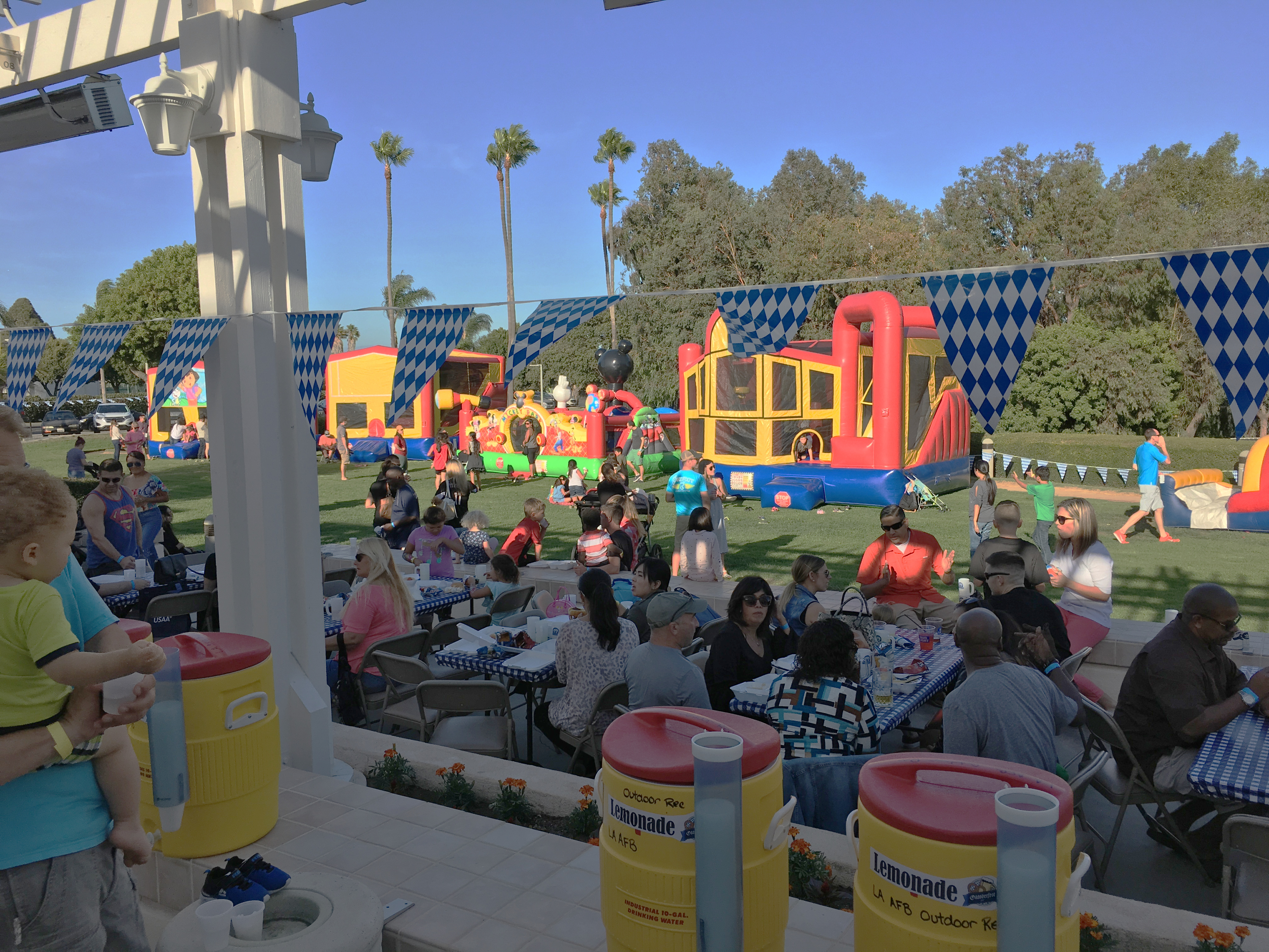 Los Angeles AFB hosts a community Oktoberfest!