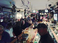 Pat's Sports bar hosts theme nights with decorations from PartyCheap
