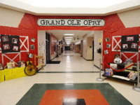Our front entry was the Grand Ole Opry