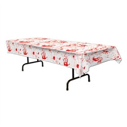 body handprints tablecover