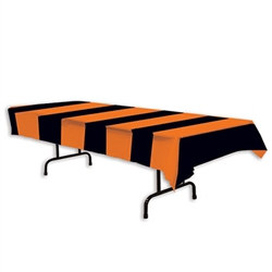 orange & black tabllecover