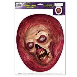 zombie head toile ttopper