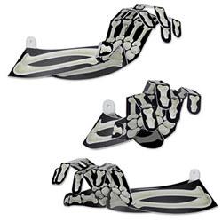 3-d skeleton hands