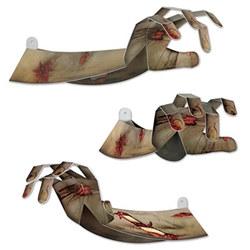 3-d zombie hands