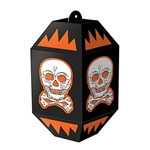 Vintage Halloween Skull Paper Lanterns - another classic Beistle halloween decoration that recalls simpler times.