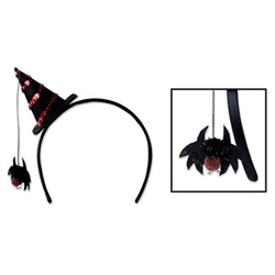 Spide Witch Hat Headband