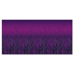 spooky forest treetops backdrop