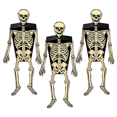 skeleton favor boxes
