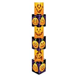 jack-o-lantern column