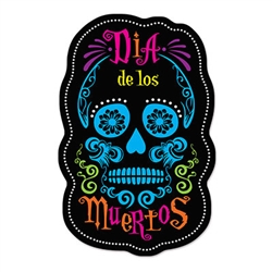 Day Of The Dead Sign Cutouts