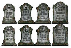Tombstone Cutouts