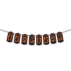 halloween string banner