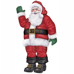 Large Jointed Santa