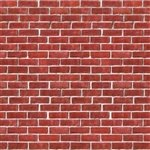 This high quality brick wall backdrop is perfect for recreating the look of real red brick on your walls.
