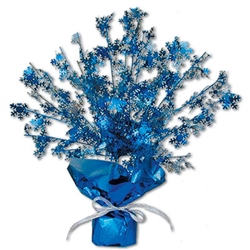 Snowflake Metallic Burst Centerpiece