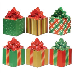 Christmas Favor Boxes (3/Pkg)