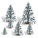 3-D Winter Pine Tree Centerpieces - new at PartyCHeap.com!