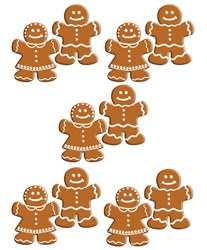 Mini Gingerbread Cutouts